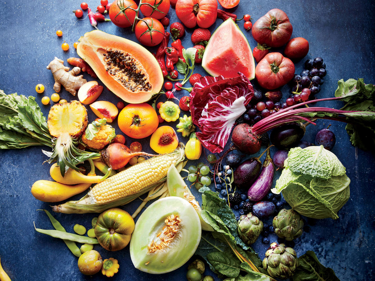 Fruits and vegetables: The colours of healthy eating  - Samaras